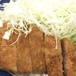 三州屋 - とんかつ定食(ロース)