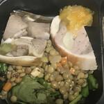 カルナヴァル - フロマージュ・ド・テット、鶏ときのこのガランティーヌ、レンズ豆