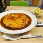 あんかけスパゲティの店 ユウゼン - スパニッシュ・麺小(ミニサラダ付き)