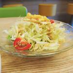 あんかけスパゲティの店 ユウゼン - ミニサラダ