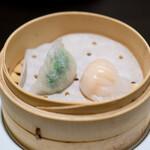 福全徳 香港名菜 - 海老餃子 海老ニラ餃子