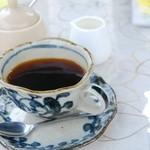 千里庵 - ホットコーヒー