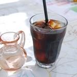 千里庵 - アイスコーヒー
