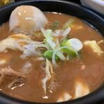 日の出らーめん - 剛つけ麺(大) つけ汁アップ