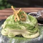 ウイラニ - 抹茶ティラミスパンケーキ