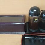 松の屋 - テーブルの設え