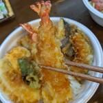 日本料理 大島 - プリッとした海老天