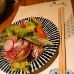 Nojika - お皿に取ってみた写真(笑)