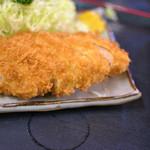 とん喜多 - チキンカツ定食¥900