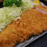 とん喜多 - 並ロースカツ定食¥900