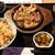 権之助FLAT - マグロホホ肉ステーキ定食 1,200円