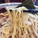 中華そば ばんや - もやしそば麺リフト