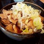 創作十割蕎麦 とらせんにん - 肉つけ汁(アップ)