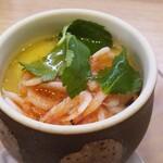 かっぱ寿司 - 桜海老茶碗蒸し