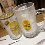 すごい煮干ラーメン凪 - ハイボール 390円