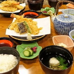 130444195 - 天ぷら定食(2000円)