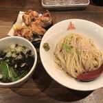 三田製麺所 - 唐揚げ定食 1090円
