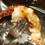レストラン オネット - オマール海老のグリル 甘えびの赤ワインソース