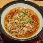 麓屋 - 料理写真:温かいお蕎麦