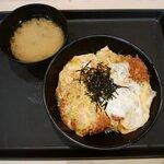 松のや - ロースかつ丼 550円