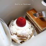パレット - 料理写真:期間限定レアチーズケーキ