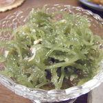 ちゅらさん亭 - ツノマタの酢の物。