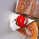 ル・パティシエ・ジョーギ - 料理写真:ショートケーキが可愛い顔
