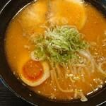 麺処 松。 - 辛味噌ラーメン・あっさり・太麺