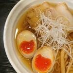 麺処 松。 - 味玉中華そば・あっさり・縮れ麺
