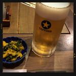 甲州屋酒場 - 生ビール&お通し