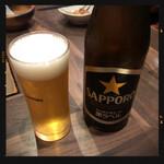 甲州屋酒場 - 瓶ビール