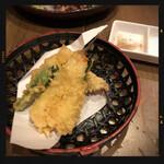 甲州屋酒場 - はぜの天ぷら