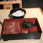 羽田市場 ギンザセブン - 天然マグロ丼(税込み990円)