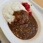 食事処 幸 - 料理写真:カレーライス 400円