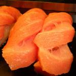 は満寿司 - とろ握り アップ