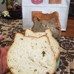 ねこねこ食パン - 料理写真:ねこねこ食パンあずき