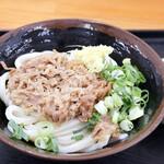 さぬき麺輝屋 - 料理写真:肉ぶっかけ冷