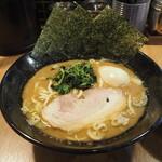 銀家 - 味玉ラーメン 800円