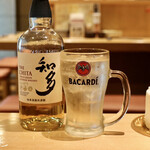 天ぷらと日本酒 明日源 - 知多ハイボール