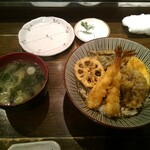 天ぷら 穴子蒲焼 助六酒場 - 料理写真:天丼(ランチ)