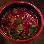 韓韓麺 - 韓つけ麺(つけ汁)