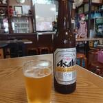本家きむらや - 瓶ビール・小(300円)