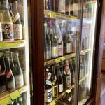 酒ノみつや - 宝箱のような冷蔵庫