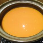 130488896 - 雲丹しゃぶしゃぶ(スープ)
