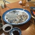 大平山荘 - すっぽん鍋の具
