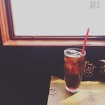 チャントルーズ - アイスコーヒー(アイスコーヒー専用にフレンチロースト(深煎り)した豆で淹れています。)