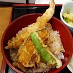 讃岐麺処 か川 - ミニ天丼