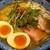 だしと麺 - 料理写真:焼き飛魚そば。魚介の風味がフワーッと。