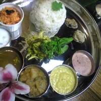 南インド料理 葉菜 - ミールス(定食)