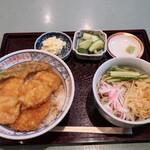 上むら - 料理写真:ハモ天丼セット